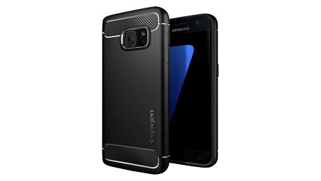 Spigen Rugged Armor, black - Galaxy S7 - 555CS20007