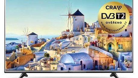 Televize LG 60UH605V stříbrná