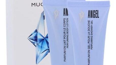 Thierry Mugler Angel dárková kazeta pro ženy tělové mléko 30 ml + sprchový gel 30 ml