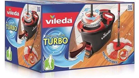 Mop sada Vileda Easy Wring and Clean Turbo Čistící prostředek Ajax na podlahy (zdarma)