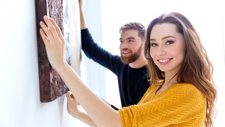 Umělecké ručně malované obrazy s různými motivy dle vlastního výběru