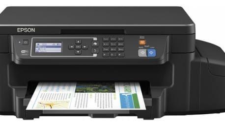 Tiskárna multifunkční Epson L605 (C11CF72401) černá