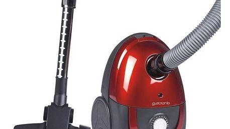 Vysavač podlahový Guzzanti GZ 309 červený + Sáčky do vysavače Guzzanti GZ 310 v hodnotě 129 Kč + Doprava zdarma