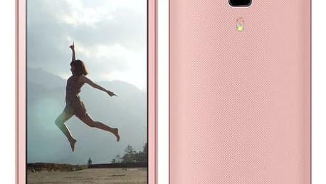 Mobilní telefon Aligator S4080 Dual SIM (AS4080PK) růžový