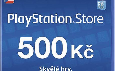 Playstation Network Card - 500 Kč - PS719894339