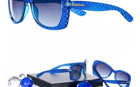 Sluneční brýle tmavě modré UV 400