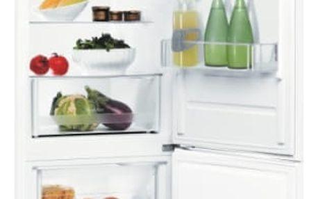 Kombinace chladničky s mrazničkou Indesit LR6 S2 W bílé