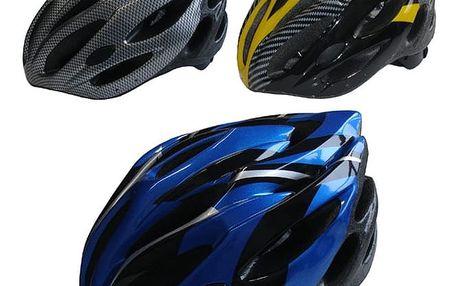 Helma cyklistická a pro inline bruslení s 22-ma větracími otvory vel. L