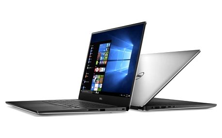 Dell XPS 15 (9560) Touch, stříbrná - TN-9560-N2-713S + Kupon na hru ROCKET LEAGUE, platnost od 30.5.2017 - 31.7.2017