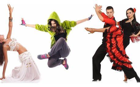 Letní permanentka do Centra Tance v Praze