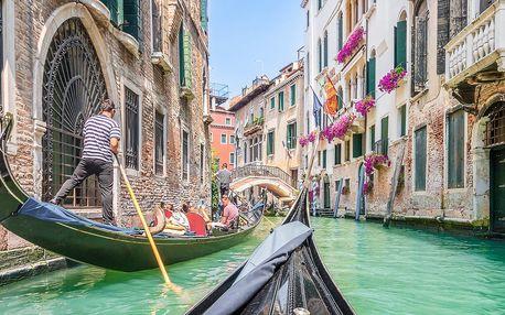 Benátky s návštěvou ostrovů Burano a Murano
