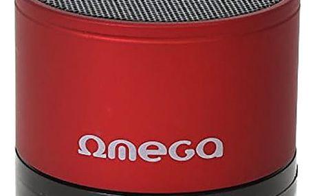 Omega OG47, přenosný, červená - OG47R