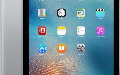 "APPLE iPad Pro Cellular, 9,7"", 128GB, Wi-Fi, šedá - MLQ32FD/A + Zdarma GSM T-Mobile SIM s kreditem 200Kč Twist (v ceně 200,-)"
