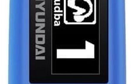 Hyundai MP 366 FM, 4GB, modrá - HYUMP366GB4FMBL
