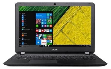 Notebook Acer ES 15 (ES1-533-P8T4) (NX.GFTEC.009) černý