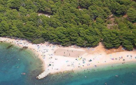 Chorvatsko - Baška Voda autobusem: 7 nocí v kempu přímo u pláže