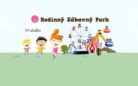 Lunapark Rabkoland - celodenní vstupenka na všechny atrakce, i přes léto