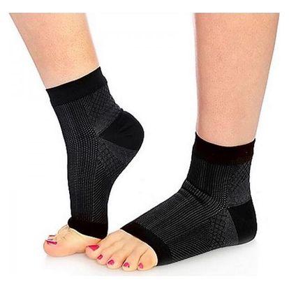 Kompresní ponožky v černé barvě