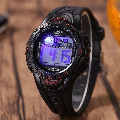 Pánské digitální hodinky SPORT - mix barev