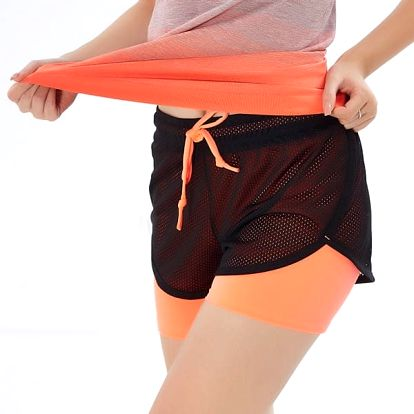 Rychleschnoucí sportovní šortky