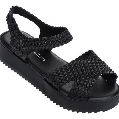 Melissa černé sandály Hotness + Salinas Black - 38