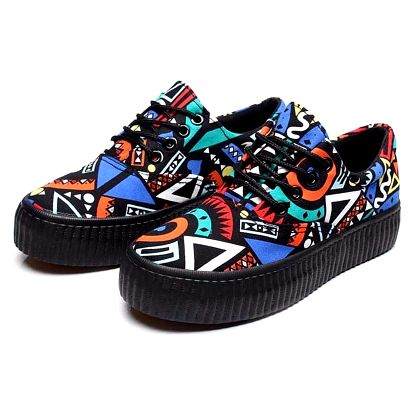 LK shop Komfortní botky na platformě Barva: modrá, Varianta: 39