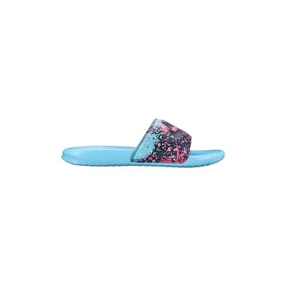 Wmns benassi jdi print 39 POLARIZED BLUE/DARK RAISIN-FRE
