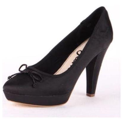 Elegantní černé dámské lodičky od značky Pepe Jeans vč. pošty - vel. 40