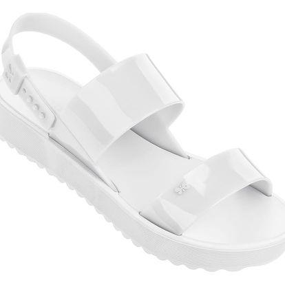 Zaxy bílé sandály Clubber Sand Plat White - 38