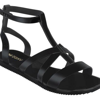 Zaxy černé sandály Dual Sandal Fem Black - 39