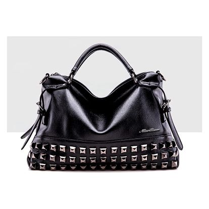 LK shop Módní kabelka se cvočky Barva: černá