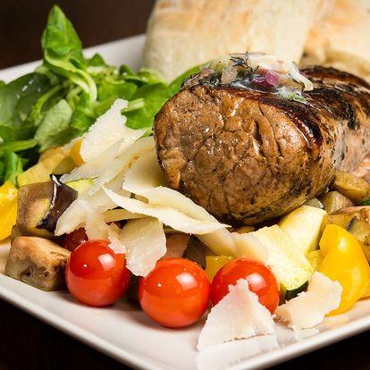 Gurmánské léto v Cihelně: 3chodové menu pro dva