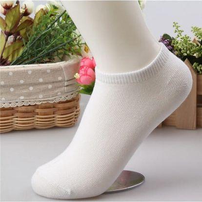 10 párů dámských kotníkových ponožek