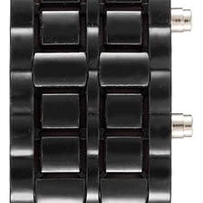 Plastový náramek s LED hodinkami - mnoho barev