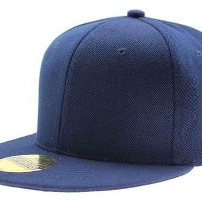 Čepice s rovným kšiltem - mix barev