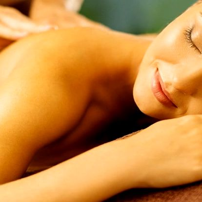 Relaxace celého těla při masáži