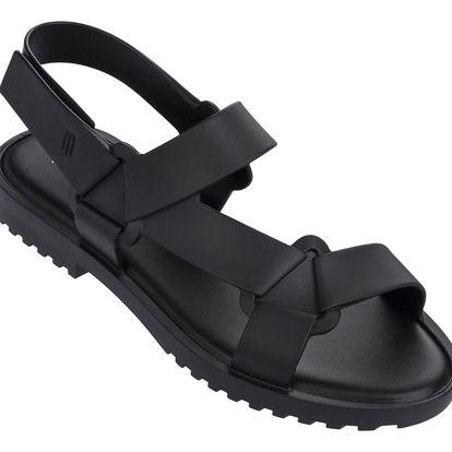 Melissa černé sandály Connected Black - 39