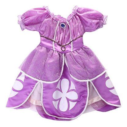 Dětské letní princeznovské šaty Sofie, 3 velikosti, poštovné v ceně