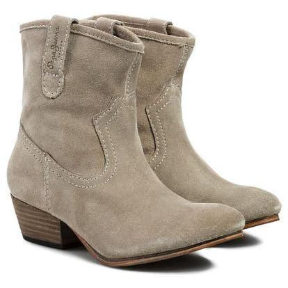 Dámské béžové boty Pepe Jeans vč. poštovného, vel. 36