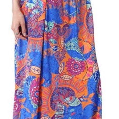 Bohémská dlouhá sukně pro dámy - 10 variant