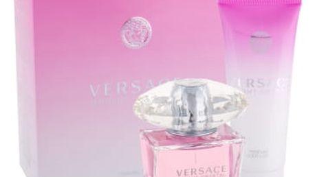 Versace Bright Crystal dárková kazeta pro ženy toaletní voda 90 ml + tělové mléko 100 ml