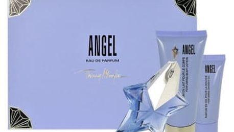 Thierry Mugler Angel dárková kazeta pro ženy parfémovaná voda 25 ml + tělové mléko 100 ml + sprchový gel 30 ml
