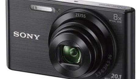 Digitální fotoaparát Sony DSC-W830B černý