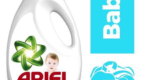ARIEL Baby 2,6 l (40 dávek) – tekutý prací prostředek