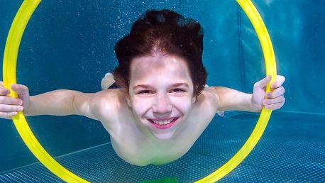 Pronájem bazénu s teplou vodou vhodný pro miminka