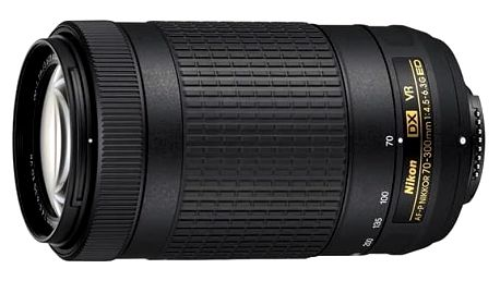Objektiv Nikon NIKKOR 70-300mm F/4.5-6.3G ED AF-P DX VR (JAA829DA) černý + cashback + Doprava zdarma