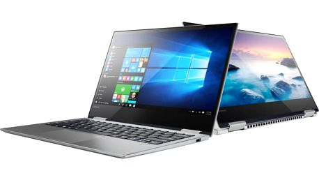 Lenovo Yoga 720-13IKB, platinově-stříbrná - 80X60018CK