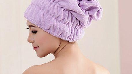 Speciální ručník na vlasy - mnoho barev
