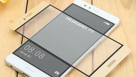 Tvrzení sklo z čirého materiálu pro Huawei P9 - 3 barvy