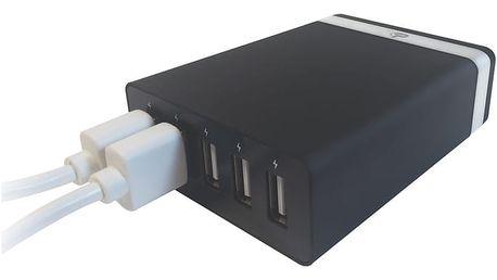 Patriot FUEL mini 5 port USB nabíjecí základna - PCFSM5UBK-INT